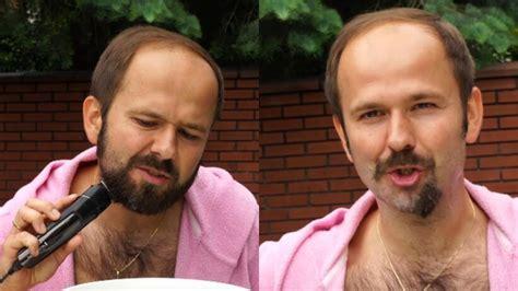 Ja i sławomir nie wiedziałyśmy, co robić. Sławomir goli brodę po kwarantannie. Zapowiedział nowy ...