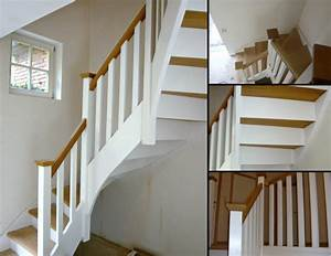 photo escalier peint meilleures images d39inspiration With peindre des marches d escalier en bois 6 comment peindre rapidement un escalier en bois bricobistro