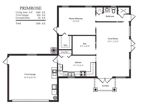 garage floor plans guest houses tanen homes house plans