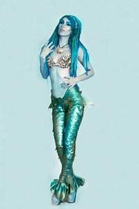 Meerjungfrau Kostüm Selber Machen : meerjungfrau kost m selber machen diy anleitung water spirits merfolk pinterest ~ Frokenaadalensverden.com Haus und Dekorationen