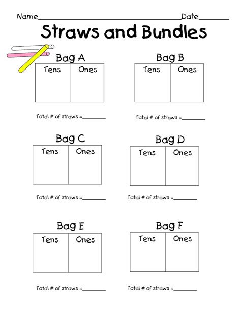 tens and units clipart 42