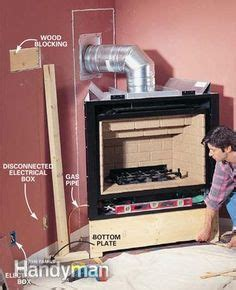 install  gas fireplace living room indoor gas