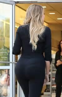 khloe kardashian booty  tights  gotceleb