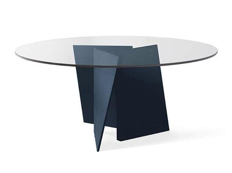 Palio Tavolo Rotondo By Poltrona Frau Design Ludovica