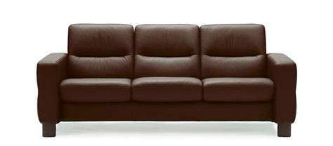 canape stressless stressless wave lowback sofa modern recliner leather sofa