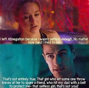 Quotes From Insurgent Tobias And Tris. QuotesGram