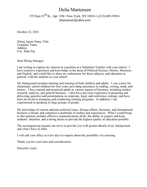 address academic cover letter include letter