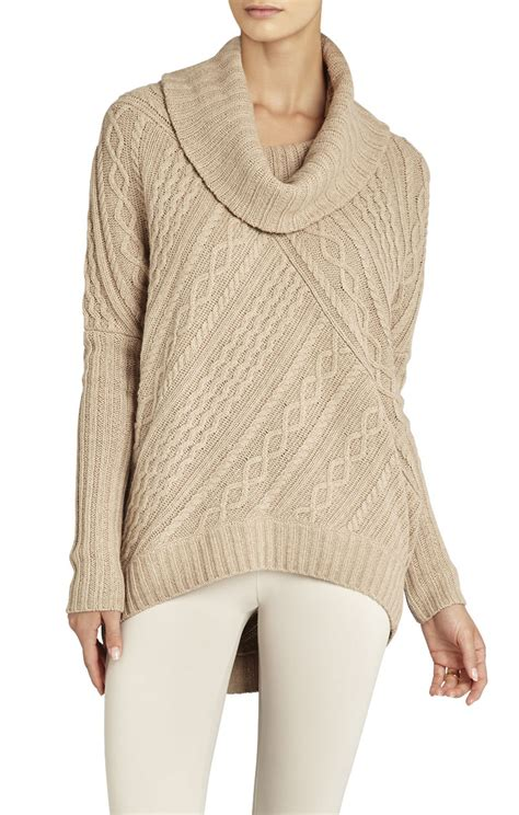neck knit pullover linden cowl neck cable knit pullover