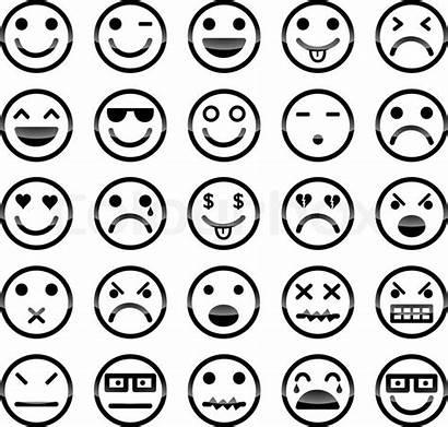 Smiley Icons Vektor Colourbox Lieferanten Medien Dieses