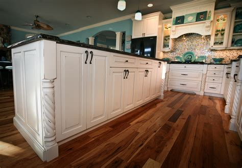 kitchen island with posts teal appeal kitchen point pleasant jersey by design
