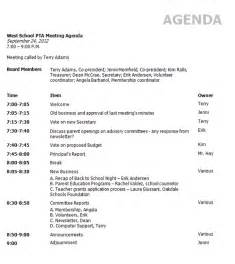 Business Meeting Agenda Templates Meetingbooster Party
