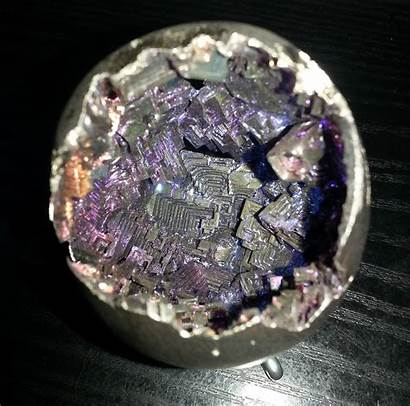 Bismuth Crystals Crystal Grow Melt Probably Something