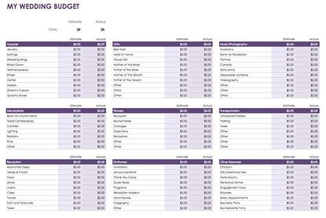 budget template google free docs budget templates smartsheet
