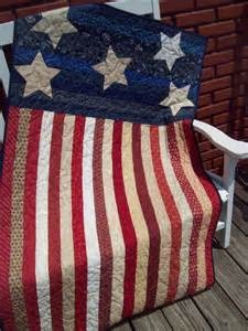 American Flag Quilt Pattern