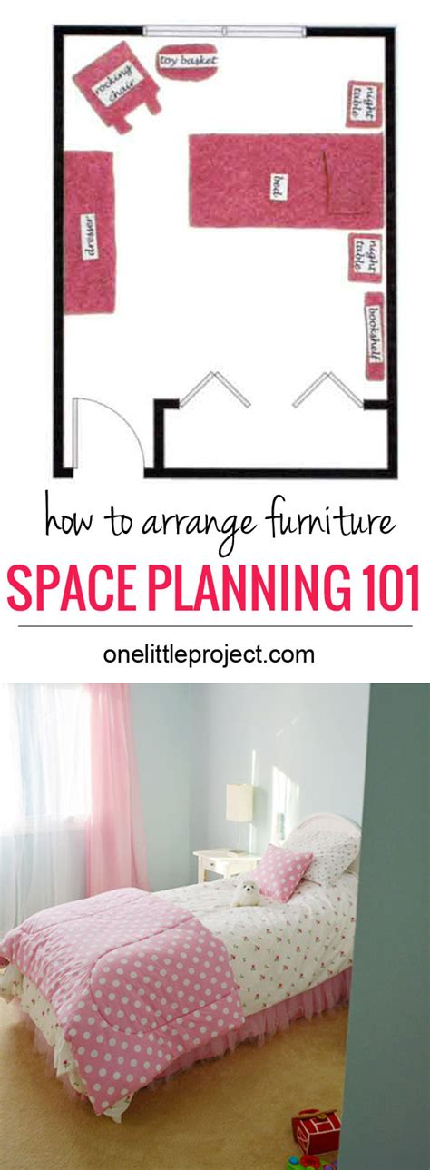 how to arrange bedroom furniture in a small space how to arrange furniture in a toddler s bedroom 21317 | Space Planning Toddler 101