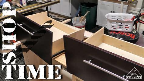 modifying vanity drawers  plumbing part   mods