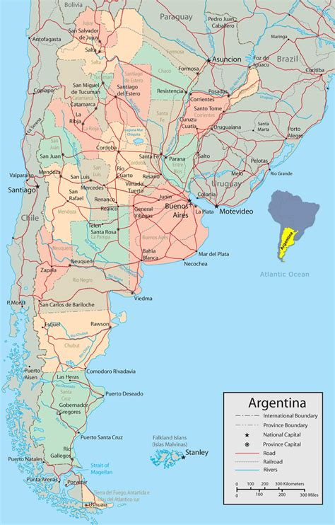 map  argentina buenos aires