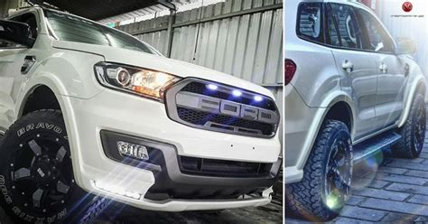 Perfectly Customized Ford Endeavour By Motormind