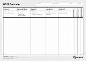 gdpr data map template ideea medium With gdpr documentation templates