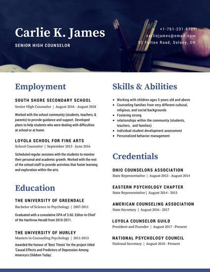 Cv Exemplaires by Customize 192 Corporate Resume Templates Canva