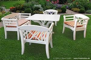 Holz Gartenbank Weiß : friesenbank shop gartenb nke und gartenm bel keitum peters peters ~ Sanjose-hotels-ca.com Haus und Dekorationen