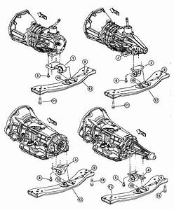 Jeep Liberty Used For  Bracket And Insulator  Transmission