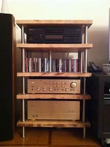 Meuble Hifi Bois : mon meuble hifi diy simpliste page 2 le forum audiovintage ~ Voncanada.com Idées de Décoration