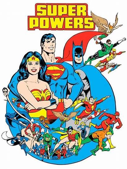 Dc Super Comics Comic Guide Powers Superheroes