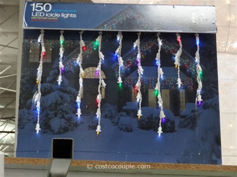 Costco Icicle Lights by Multifunction 150 Led Icicle Lights