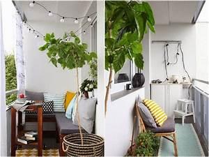 Balkon Ideen Sommer : ecksitzbank auf einem kleinen balkon balcon ideas pinterest balkon balkon ideen und ~ Markanthonyermac.com Haus und Dekorationen