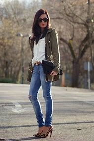 Casual Winter Outfits with Jeans