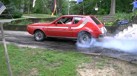 High 11 sec V8 Gremlin Burnout - YouTube