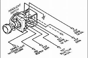 1964 Galaxie Headlight Switch Wiring Diagram