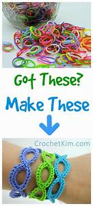Stretchy Bracelets Made Loom Rubber Bands