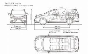 Honda Odessey 4 830mm  L  X 1 820mm  W  X 1 695mm  H  X 2 900mm  Wheelbase