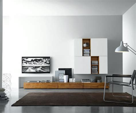 Wohnwand Mit Schiebeelement by Die Moderne Wohnwand 2016