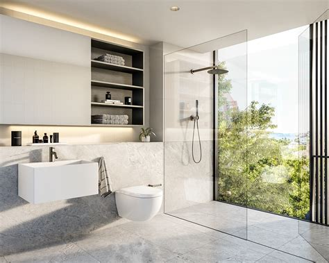 Scandinavian Bathroom Design Ideas With White Color Shade