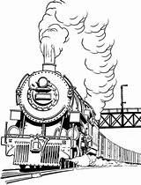 Coloring Steam Train Smoke Pages Engine Drawing Trains Long Colouring Diesel Printable Locomotive Drawings Print Designlooter Getdrawings Getcolorings Netart 05kb sketch template