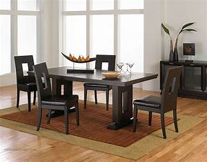 asian contemporary dining room furniture from haiku With asian style dining room furniture