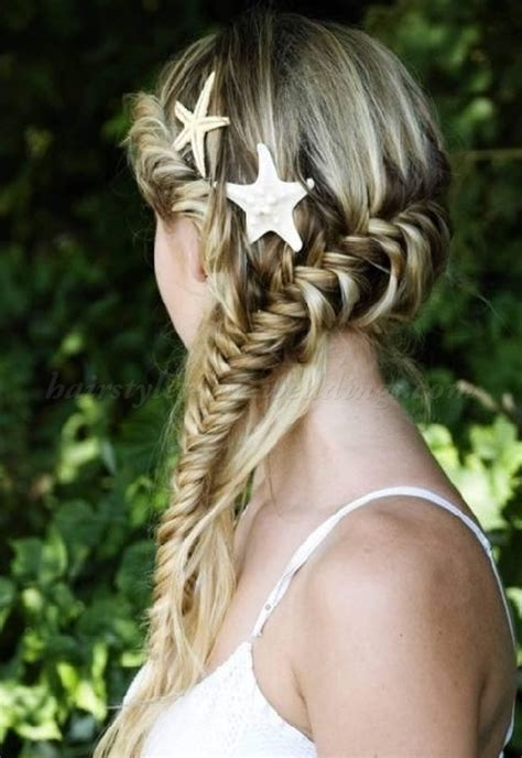 beach wedding hairstyles, hairstyles for beach weddings