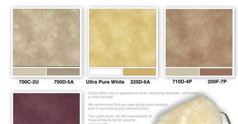 home depot faux finish color sle combinations by the
