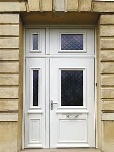 pose porte dentree bois alu devis pour linstallation With les portes d entrée