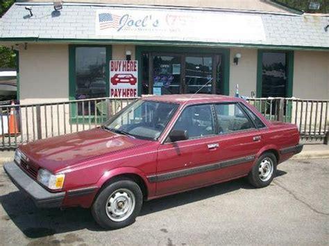 best car repair manuals 1991 subaru loyale electronic toll collection subaru loyale 1989 1992 service repair manual tradebit