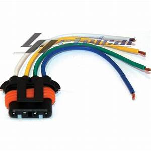 New Repair Plug Harness Pigtail Connector 4 Wire Pin Chevy Chevrolet Alternator