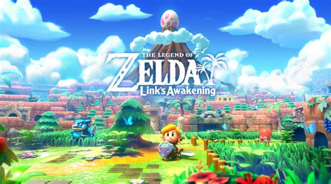 The Legend Of Zelda Links Awakening Launches For Switch