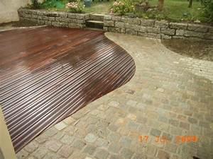 maison individuelle terrasse boispave le blog de With terrasse bois et pave