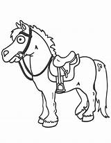 Horse Cartoon Coloring Pages Saddle Easy Drawing Printable Horses Clipart Cartoons Cliparts Drawings Library Clip Colouring Saddles Getdrawings Popular sketch template