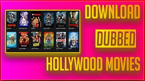 dubbed hollywood movies exclusive