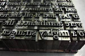 printing processes quickmail With leather press letters