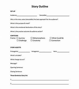 story outline sample 9 documents in pdf word With novel outline templates